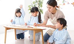 幼稚園、保育園などで卒園の記念に園児みんなの手形メモリアルを作りたい。また、手形アートなどのイベントを開催したい。